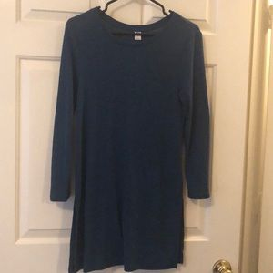 Old Navy Teal Long sleeve Tunic (Lg)
